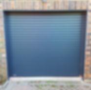 SWS Roller door in Anthracite Grey