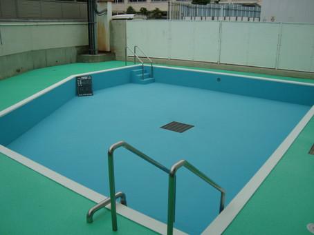 守山保育園プール