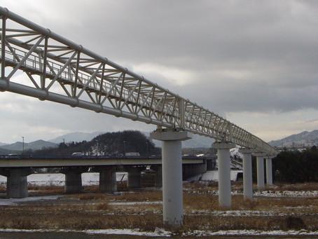 野洲川3号水管橋