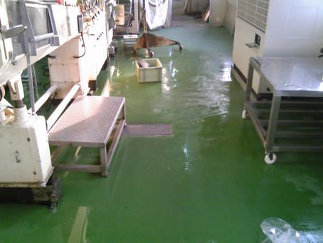 樹脂モルタル塗床