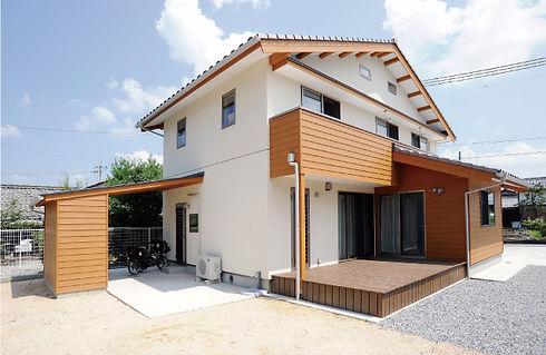 県産材のよさを伝える家づくり1