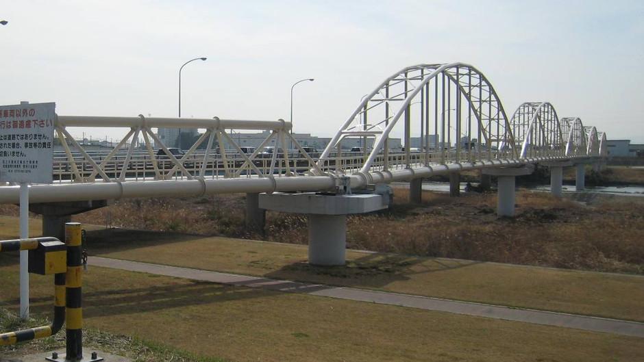 野洲川2号水管橋