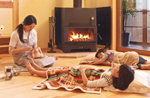 温水床暖房