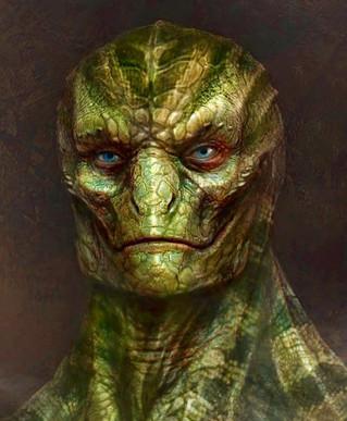 Banindo seres reptilianos