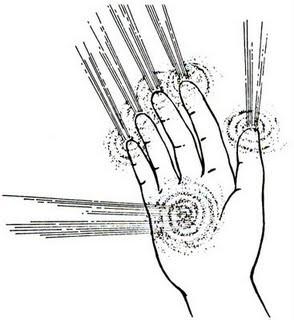 Os chakras das mãos