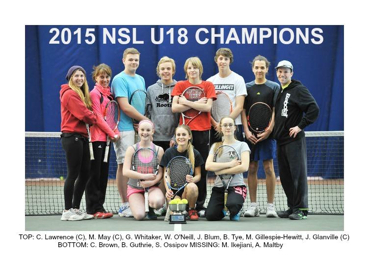2015 NSL U18 Champs