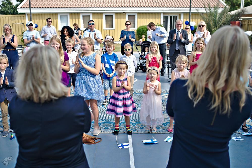 Suomi 100 -juhlahumua