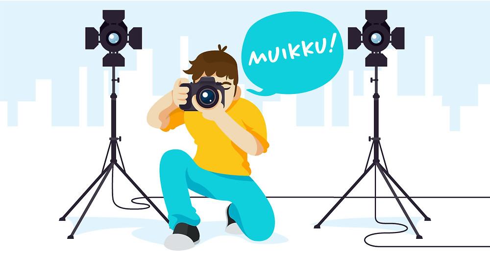 """Valokuvaaja sanoo """"muikku"""""""