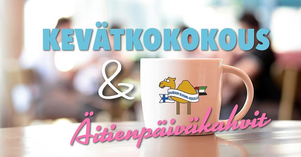 Suomi-koulun kevätkokous ja äitienpäiväkahvit