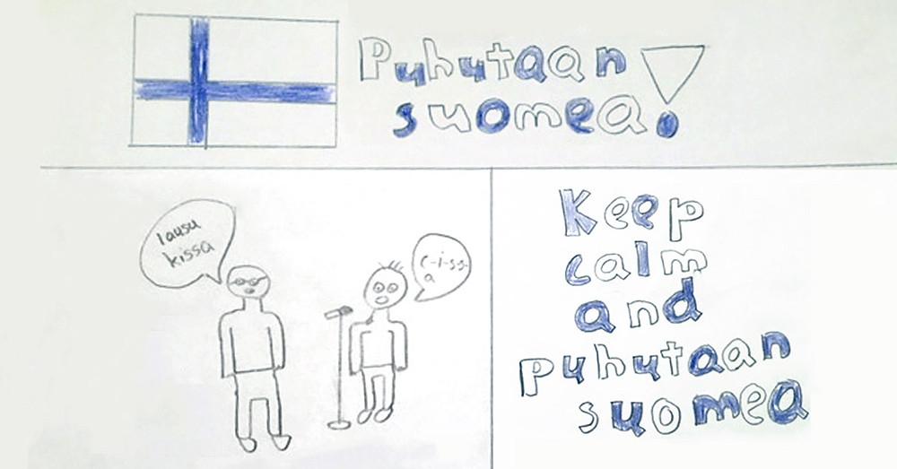 Puhutaan suomea!