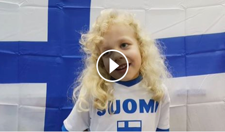 Suomi-koulun videotervehdys