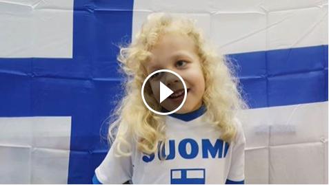 Dubain Suomi-koulun videotervehdys 100 vuotiaalle Suomelle