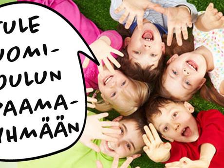 Ilmoittaudu Suomi-kouluun - nyt myös uusi draamaryhmä suunnitteilla!