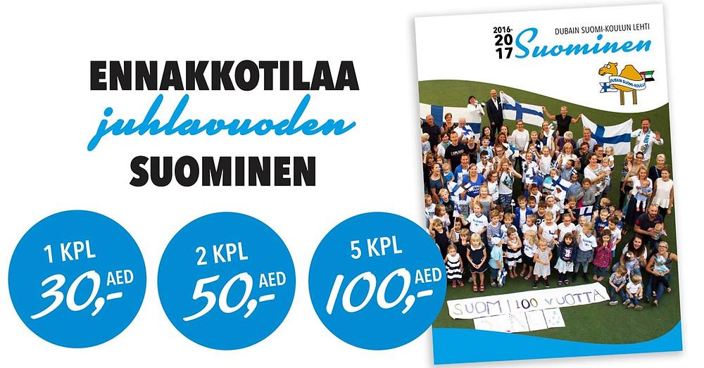 Ennakkotilaa juhlavuoden Suominen