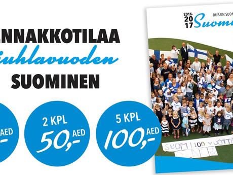 Juhlavuoden Suominen on painossa – varaa omasi
