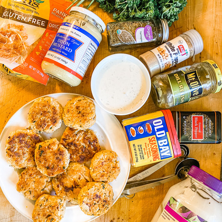 Vegan Gluten Free Crab Cakes
