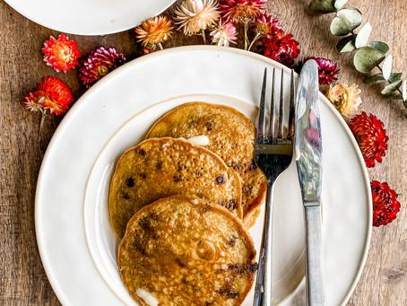 Easy Oatmeal Blender Pancakes
