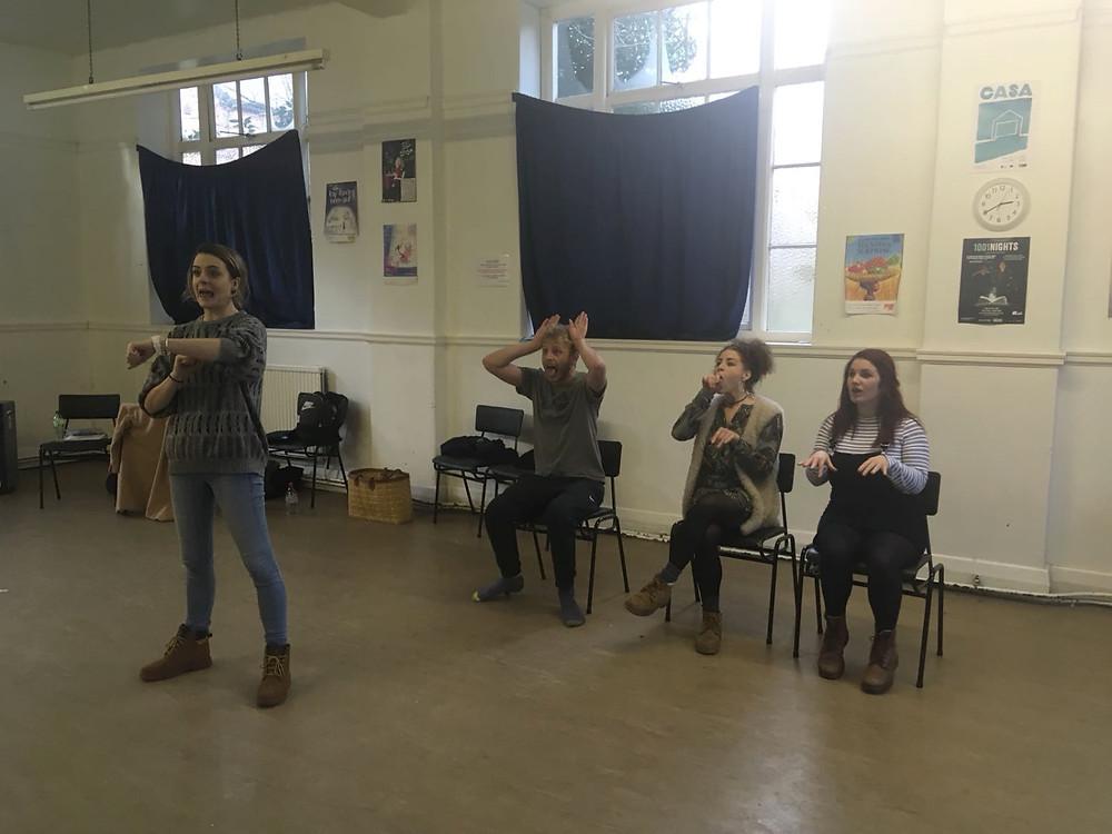 Drama exercises & activities