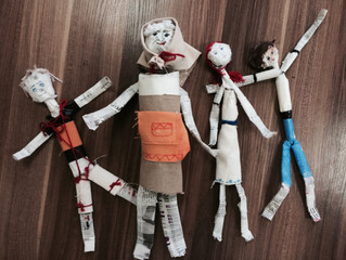 Devised puppetry project in Russia