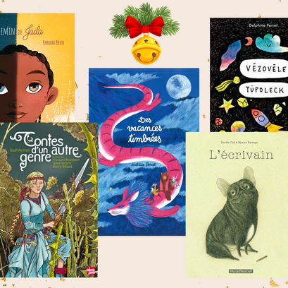 [CHRISTMAS] 5 French picture books to offer this winter.