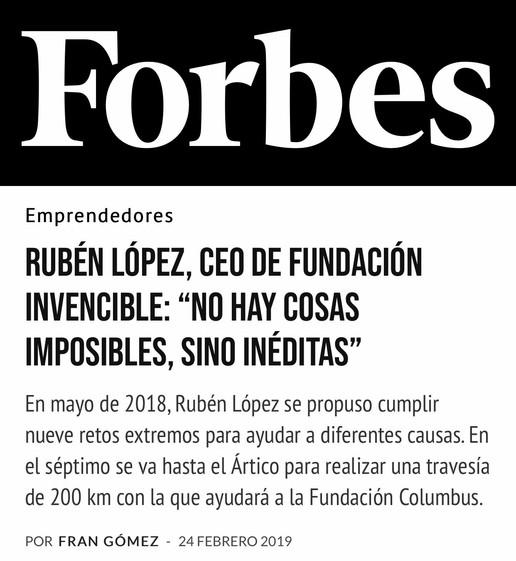 Cobertura de medios - Forbes