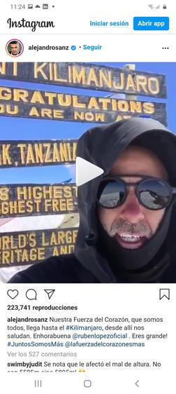 Apoyo a sus retos - Alejandro Sanz