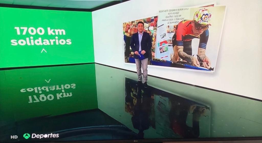 Cobertura de medios Antena 3 España
