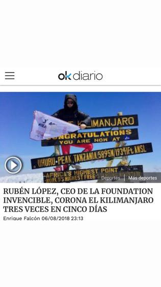 Cobertura de medios - OK Diario