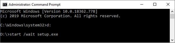 windows command line install brisbane