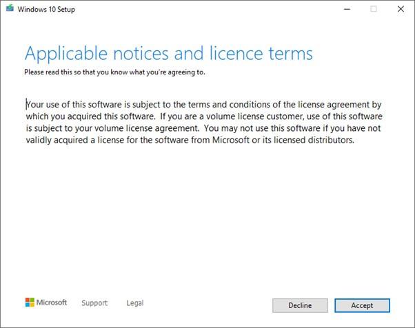 windows 10 update failure brisbane
