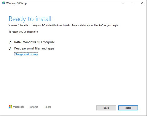 windows 10 install brisbane