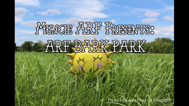 ARF's Bark Park is Open!!
