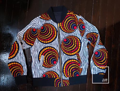 Reversible African Print Jacket - Final Sale