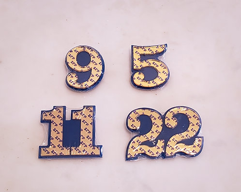 Sigma Number Pins