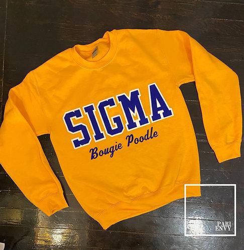 SIGMA Sweatshirt - Customize (14-21 business days)