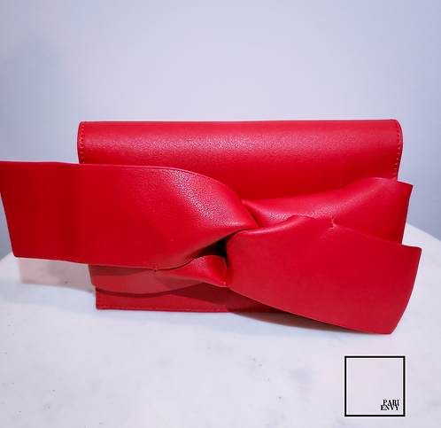 Red Clutch Purse - Discontinued