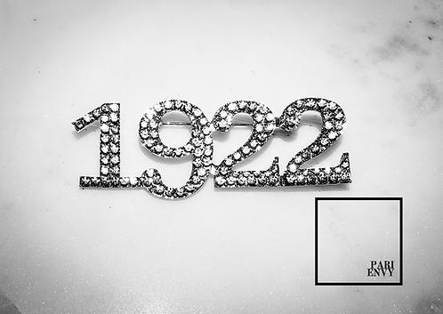 1922 Rhinestone Pin