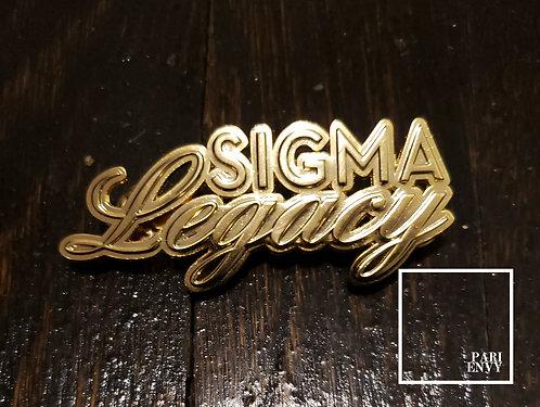 Sigma Gamma Rho Legacy Pin