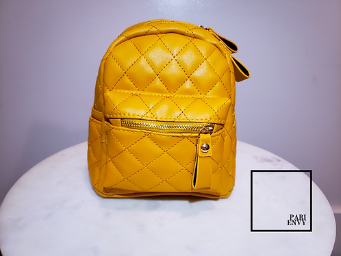 Gold Mini BackPack - Discontinued