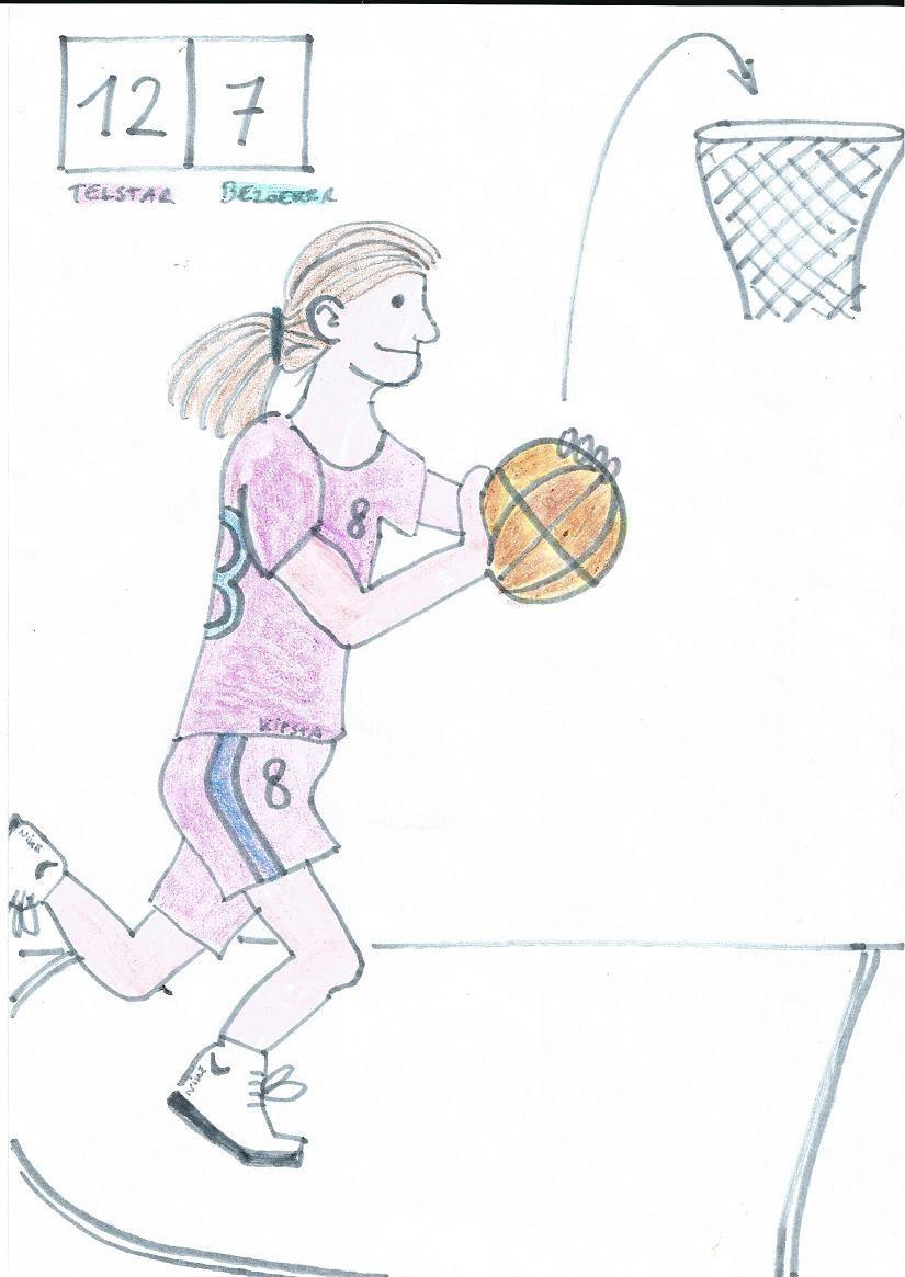 Marthe Castermans - 10B tekening