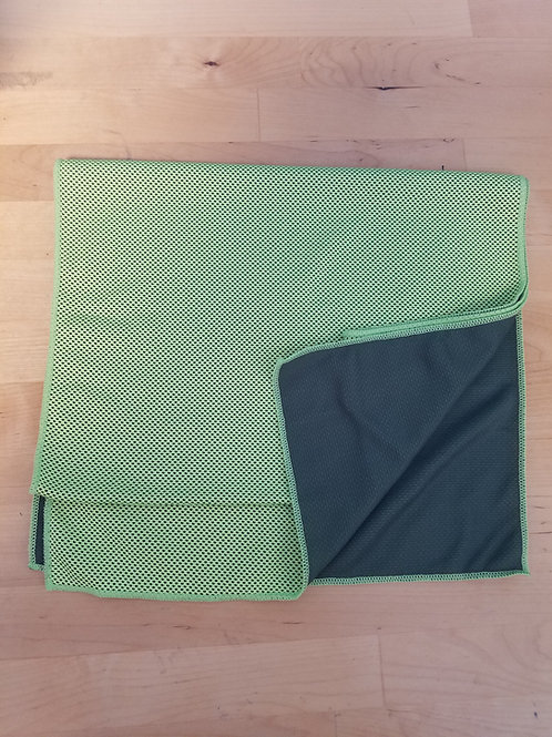 Green Super Absorbent Cooling Towel