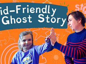 A Ghost-Friendly Kid's Story