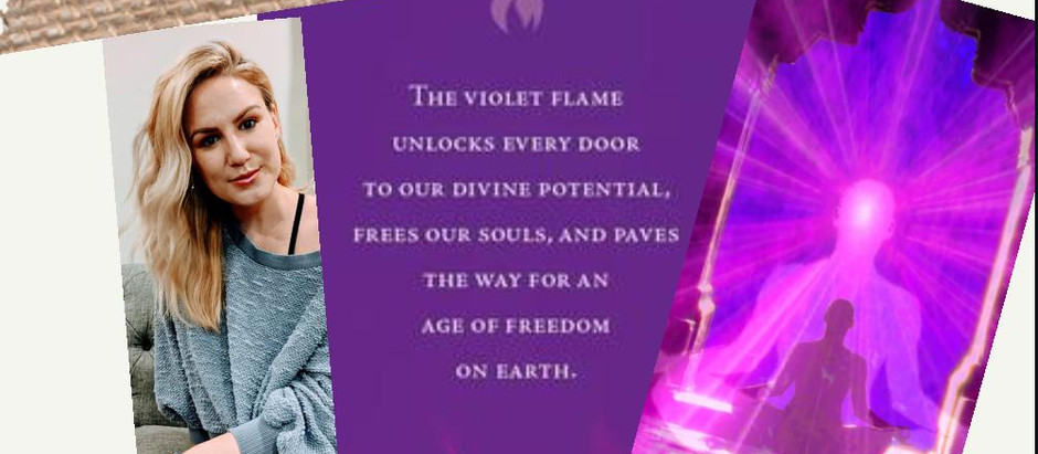 Violet Flame Meditation-LIVE Virtual on Sunday, May 31st at 10am