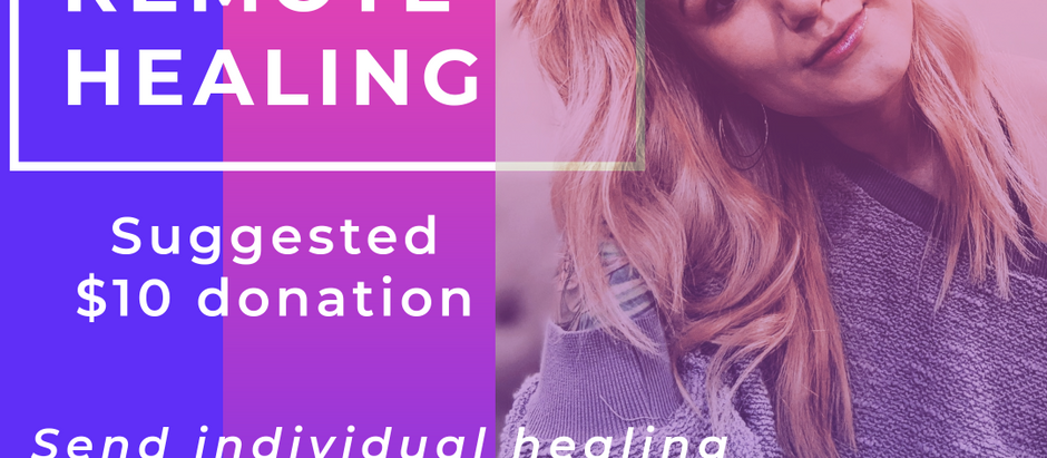 Group Remote Healing Session-April 8th @12pm