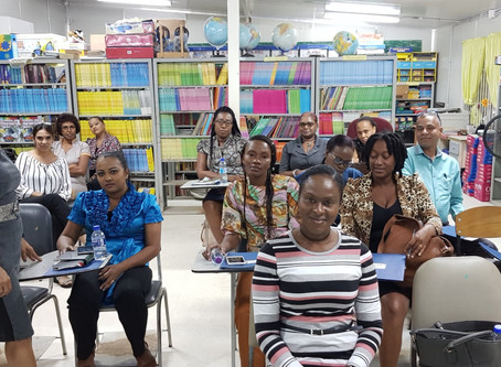 Dyslexia Association & CKFTO head to Mayaro