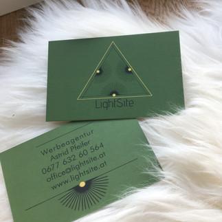 Lightsite Visitenkarten