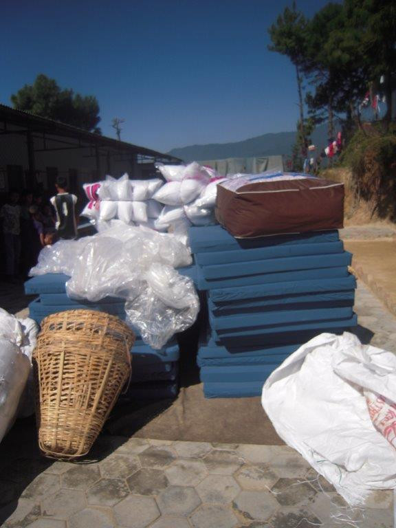 New mattesses and bedding from Anatta Outreach