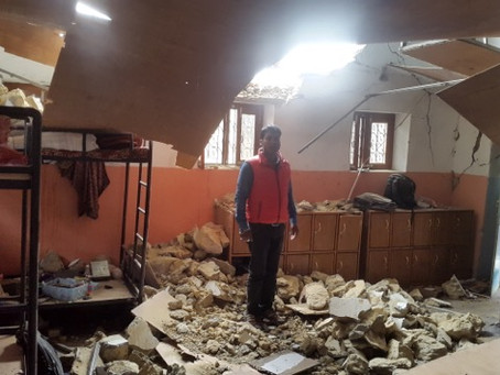 Plans for rebuilding Dadagaun Village homes and orphanage