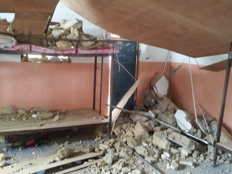 photos after earth quake from Dadagaun Orphanage