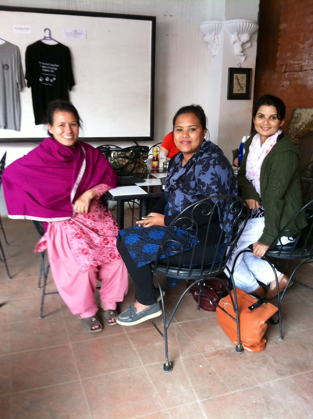 Meeting with Shakti Samuha Staff, Kathmandu